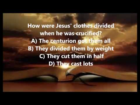Bible Trivia 014 From The Book Of Mark