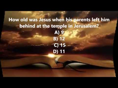 Bible Trivia 024 From The Book Of Luke