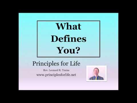 What Defines You Original   Part 2 of 3