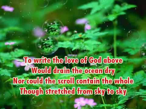 The Love of God - Mercy Me (With Lyrics)