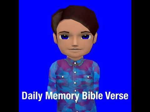 Daily Memory Bible Verse Matthew 5:5 KJV