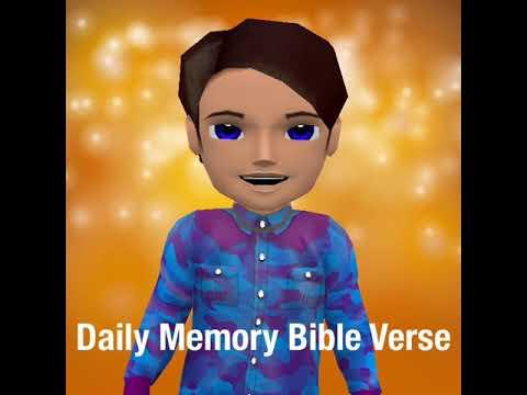 Daily Memory Bible Verse Matthew 5:9