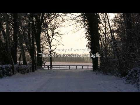Winter Impressions with Rumi Quotes - Peaceful - Yoga Music