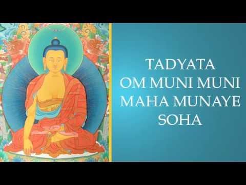 Mantra de Buda Shakyamuni cantado por Thubten Wangchen