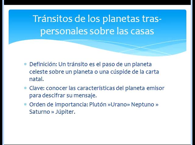 Simposio 2011, 2 de 16: Los ciclos de los planetas tras-personales (tras-saturninos)