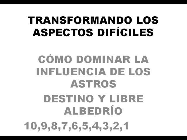 Simposio 2011, 1 de 16: Transformación de los Aspectos Díficiles