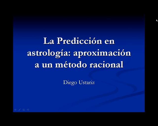 La Predicción en Astrologia