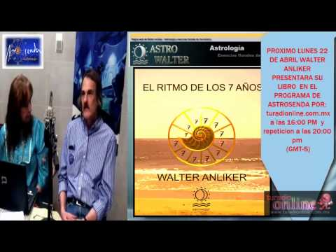 LIBRO: EL RITMO DE LOS 7 AñOS ASTROLOGO WALTER ANLIKER