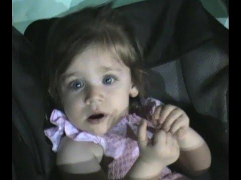 La felicidad de nuestros hijos,mi nietita es protagonista casual del video