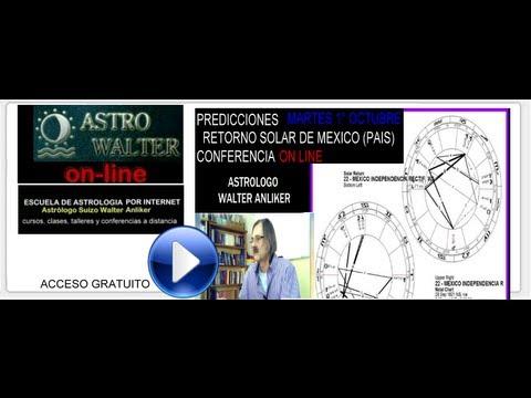 PREDICCIONES RETORNO SOLAR DE MEXICO 2013 WALTER ANLIKER