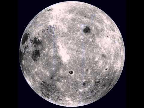 Rotating Moon from LRO