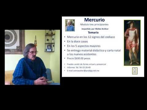 MERCURIO RETROGRADO Walter Anliker