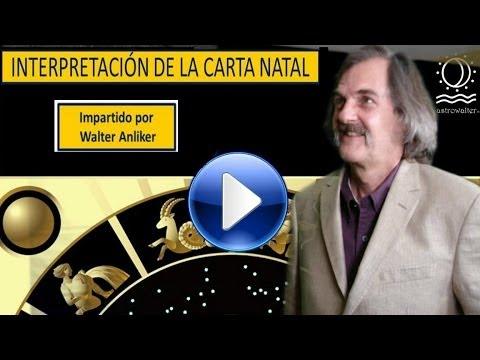INTERPRETACION DE LA CARTA NATAL WALTER ANLIKER