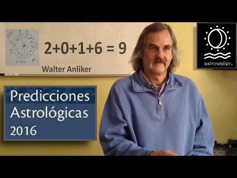 2016 PREDICCIONES  ASTROLOGO WALTER ANLIKER