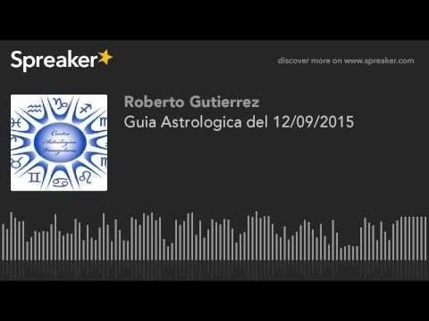 Guia Astrologica del 12/09/2015