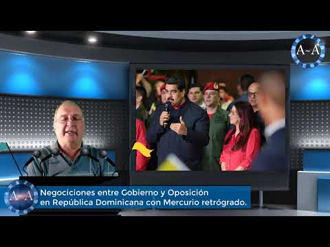 Negociaciones entre Gobierno y Oposición en República Dominicana con Mercurio Retrógrado
