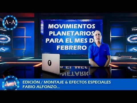 MOVIMIENTOS PLANETARIO DEL MES DE FEBRERO