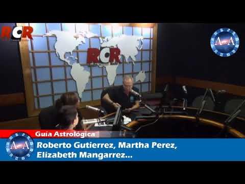 PROGRAMA DE RADIO  Guia Astrologica CON ROBERTO GUTIÉRREZ | MARTHA PÉREZ | ELIZABETH MANGARRE