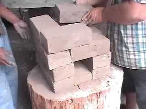 How to build a 16 brick rocket stove