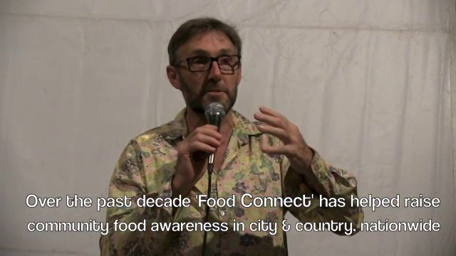 Joel Salatin Brisbane 2015 Presentation and Food Connect 10th Anniversary 'Local Fair Food Enablers'