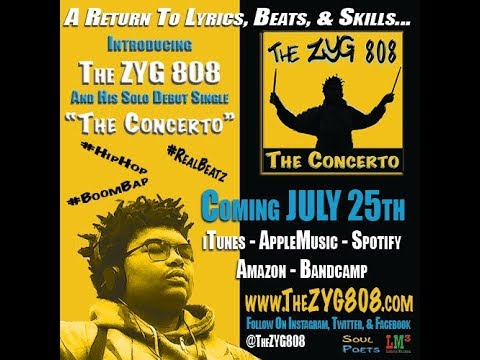 The ZYG 808 - Coming July 25th - #TheConcerto