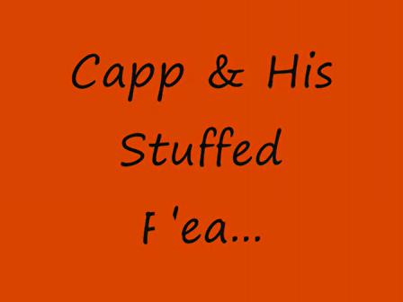 Capp & His Stuffed Flea