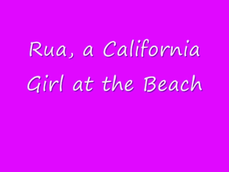 Rua at the Beach