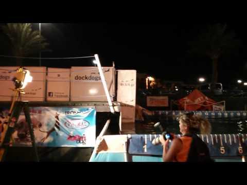 Las Vegas Dock Dogs - Chloe's first time 9/21/13