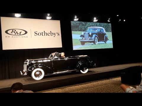 A Very Rare 1937 Chrysler Royal Convertible Sedan Built For Open Air Motoring In Style!