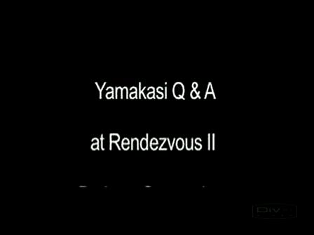 Yamakasi Q&A Rendezvous II pt 3