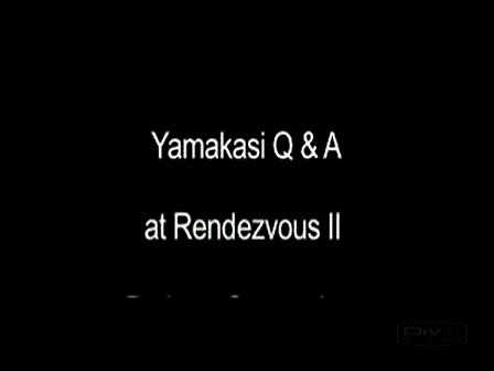 Yamakasi Q&A Rendezvous II pt 2