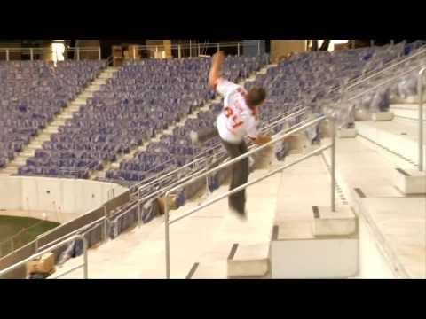 Ryan Doyle -Parkour at the RedBull Arena