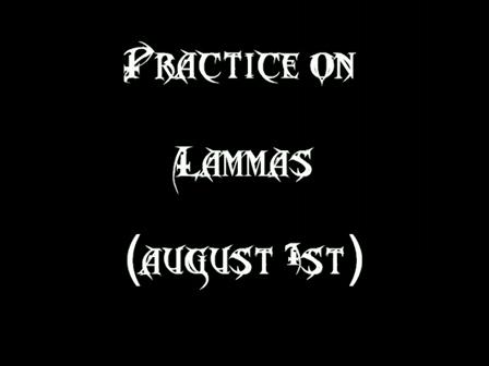 Practice on Lammas