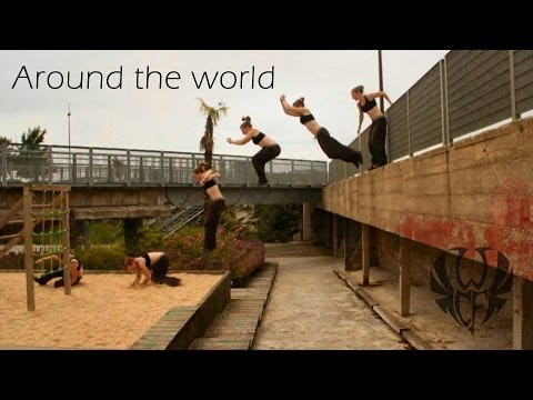 Charlotte Chacatouille - Parkour Girl
