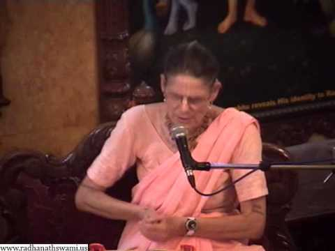 Lecture on Real and Perverted Affection by Malati Mataji in ISKCON Chowpatty