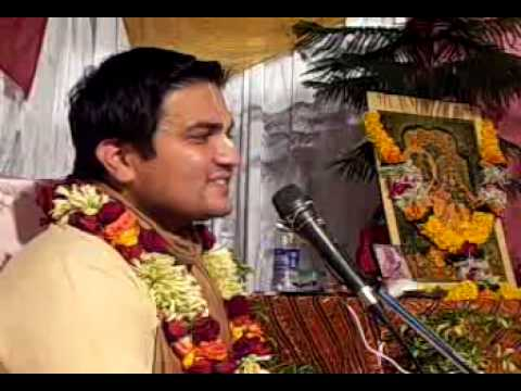 Lecture on Navratri by Lal Govind Prabhu in ISKCON Juhu on 21st Oct, 2012