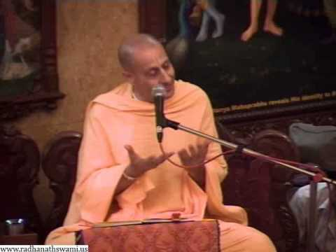Lecture on Balaram's bewilderment is Extra Ordinary by Radhanath Maharaj in ISKCON Chowpatty