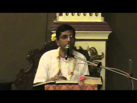Lecture on Six Lesson From Shaubhar Muni Pastimes by Madhavananda Prabhu at ISKCON Chowpatty