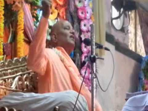 Hindi Katha on Narsimha Lila by Radha Govinda Swami at Haridwar - Part 01