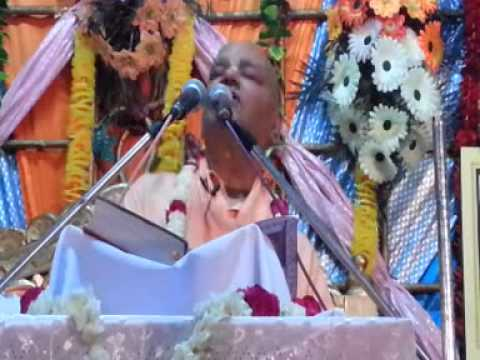 Hindi Katha on Narsimha Lila by Radha Govinda Swami - Part 07A
