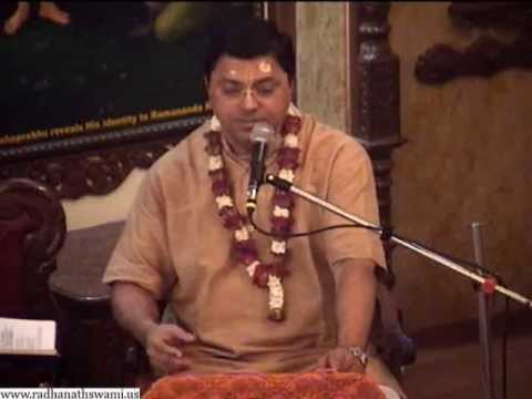 Lecture on Srimad Bhagavatam Canto 10, Chapter 20, Text 27-28 by Vishwarup Prabhu at ISKCON Chowpatty