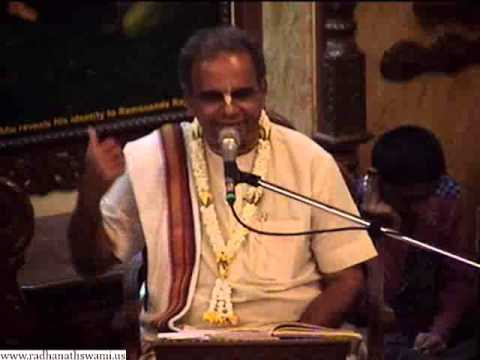 Sunday Feast Lecture on Benedictions of the Holy Name by Dayal Chandra Prabhu at ISKCON Chowpatty