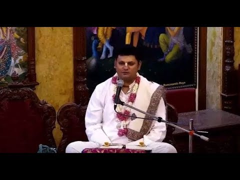 Advaita Chandra Prabhu Lecture on A Self-realised Soul in a material body is not entangled,Chowpatty