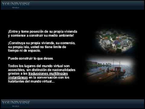 YOUNIVERSEWORLD -Nueva Red Social Virtual 3D de Negocios Online