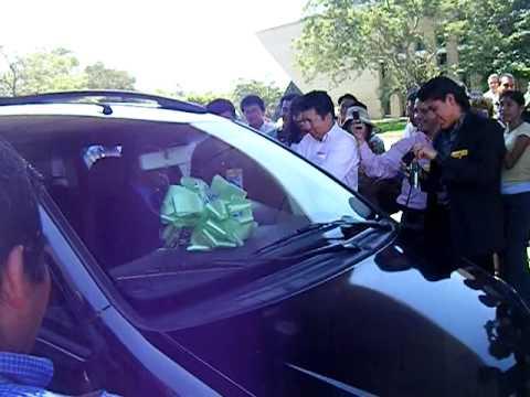 Chiapas EQUIPO EN ACCION (Entrega de carros)