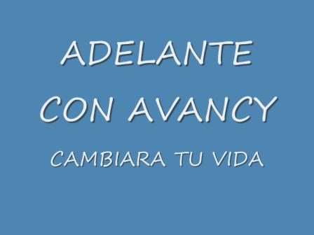 ADELANTE CON AVANCY