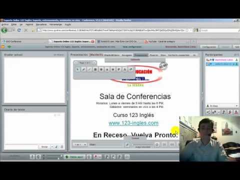 Mira en acción cómo funciona la sala de videoconferencias