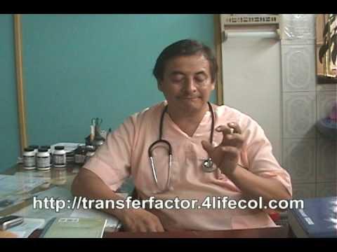 COLOMBIA ¿Que Hace Transfer Factor de 4Life? Parte 1 Medico Miguel Angel Rubio
