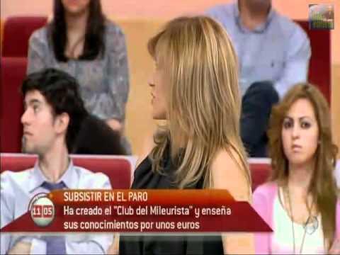 Antena3, Asociacion Club Mileurista con el Movimiento 15-M