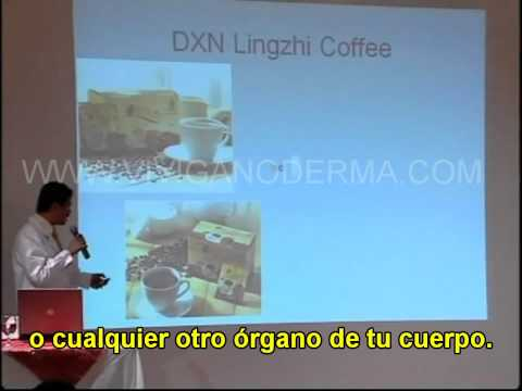 CAFE LINGZHI POR DR. REGINALD.